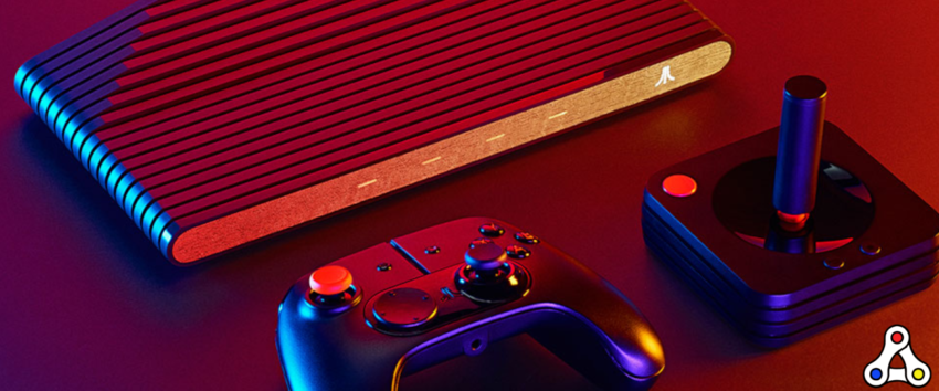 Atari VCS blockchain gaming console header