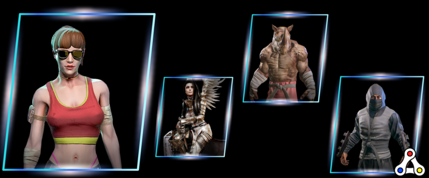 ETH Fighter character select header