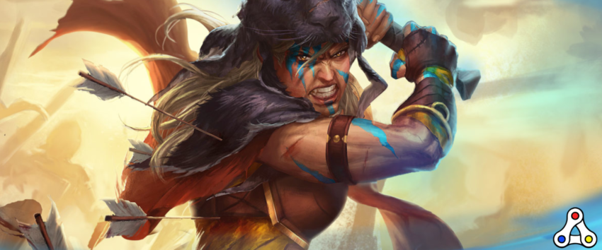 Gods Unchained battle artwork concept header