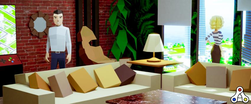 Megacryptopolis interior apartment header