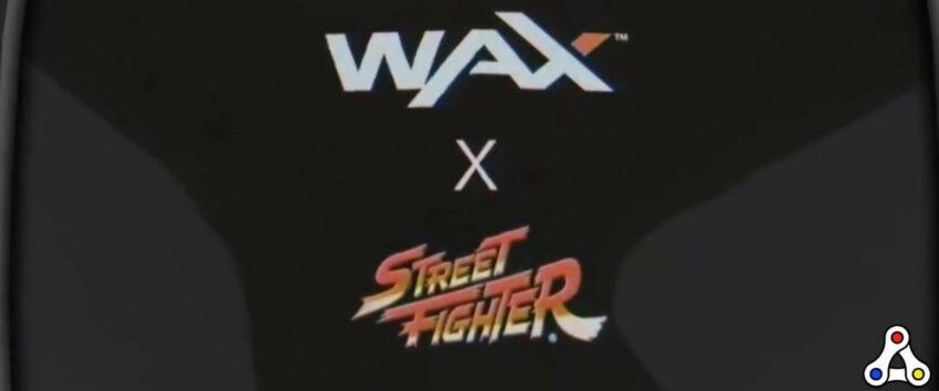 Street Fighter Digital Collectibles WAX header