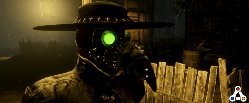 Crusader's Dynasty plague doctor screenshot header