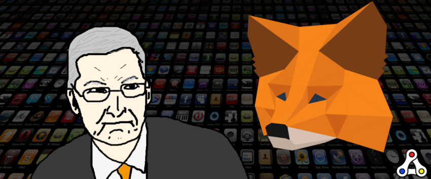 apple tim cook metamask ios android mobile