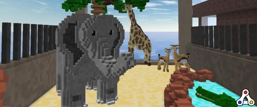 bronx zoo cryptovoxels header