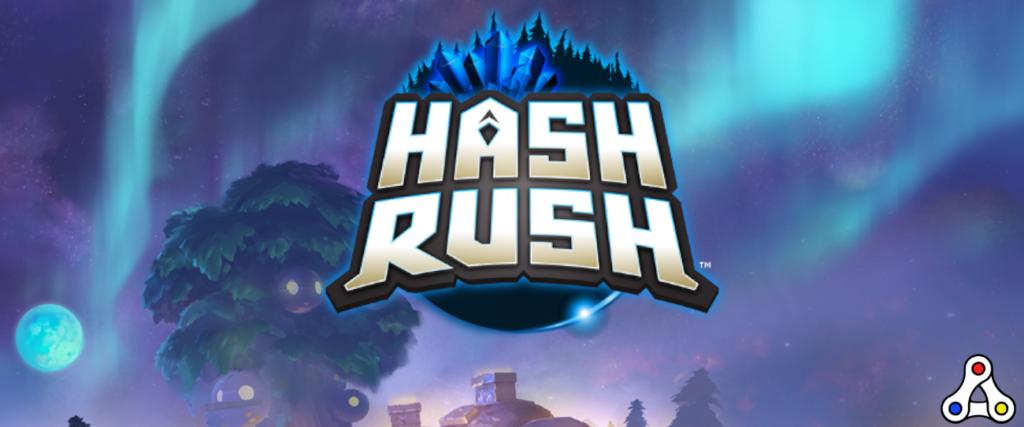 hash rush logo artwork header