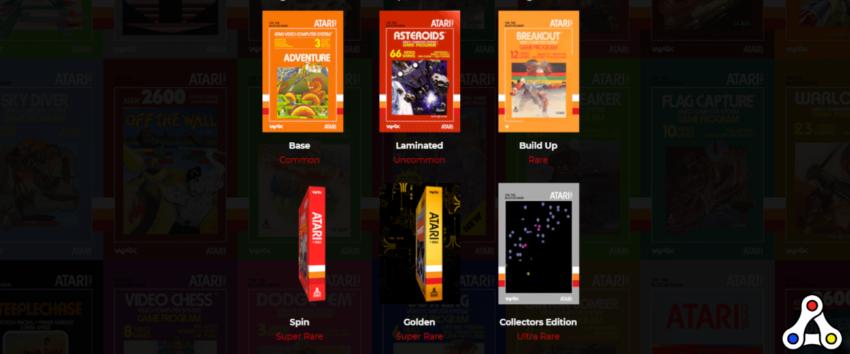 atari wax NFT digital collectibles box art header