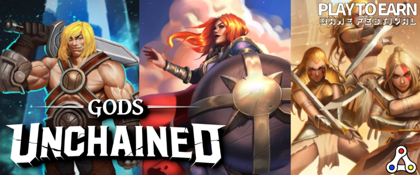 gods unchained play to earn game festival artwork header
