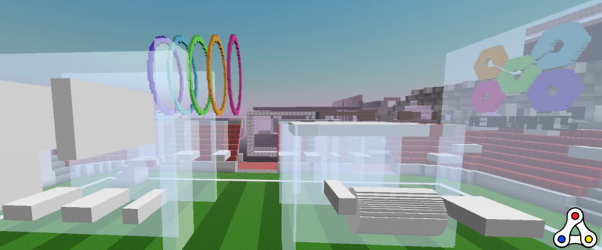 metalympics obstacle course cryptovoxels header
