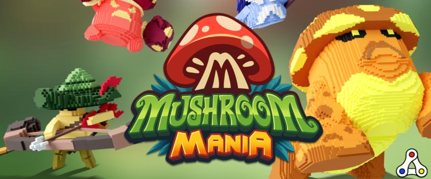 mushroom mania the sandbox artwork header