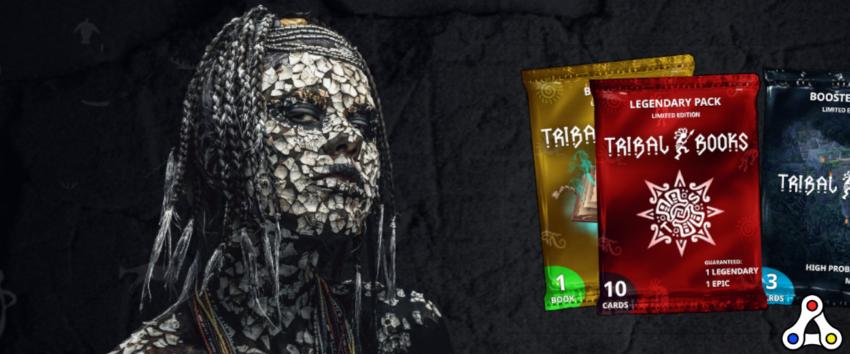 tribal books wax card game header