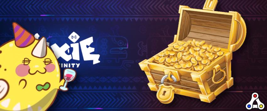 Axie Infinity Community Treasury DAO header