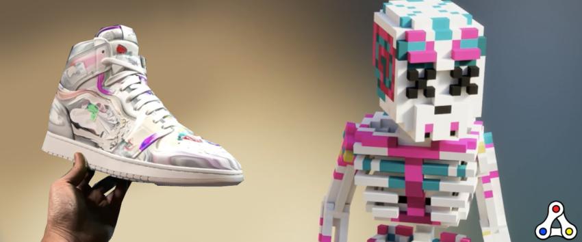 Metagrail Artifact AI sneakers exclusive The Sandbox avatar