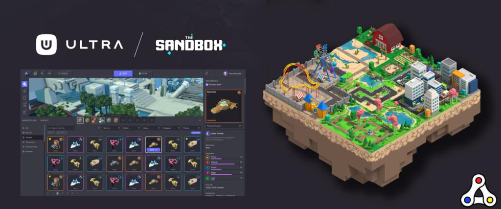 the sandbox ultra partnership header