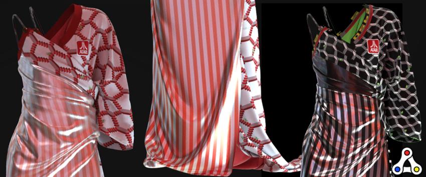 atari enjin eballr games fabricant digital fashion NFTs