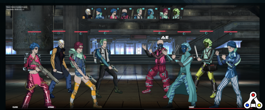 neon district battle screenshot
