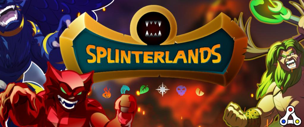 splinterlands header logo artwork