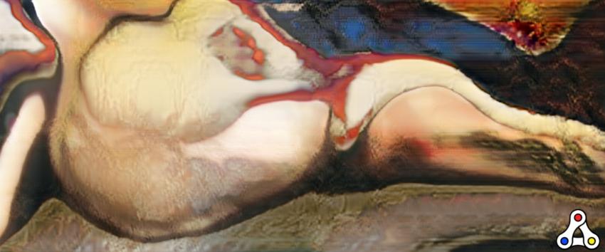 AI generated nude portrait - Robbie Barrat