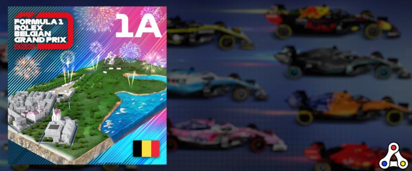 F1 Delta Time Spa track segment Apex
