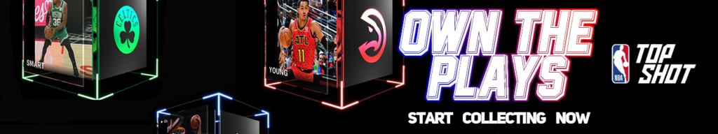 NBA Top Shot ad banner
