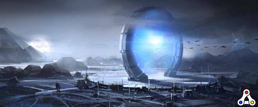 alien worlds artwork portal nft drops