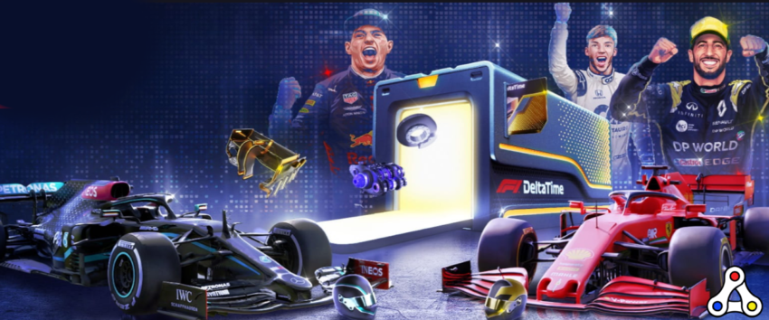 f1 delta time crate artwork