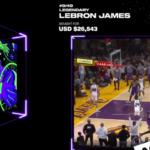 NBA Top Shot LeBron James Collectible Sold for $26.543