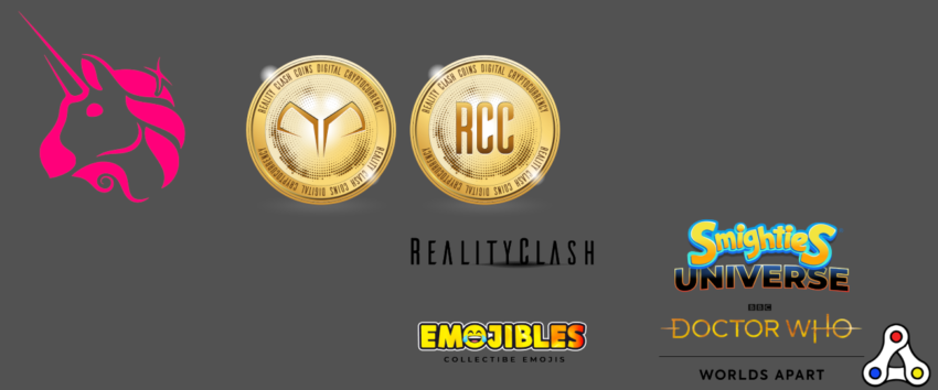 reality gaming group RCC token liquidity mining NFT