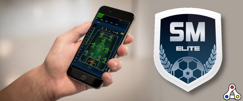 soccer manager elite mobile android mockup