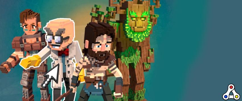 the sandbox avatars characters art header
