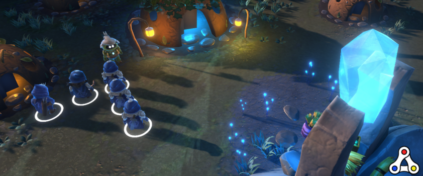 Hash Rush screenshot unit gameplay