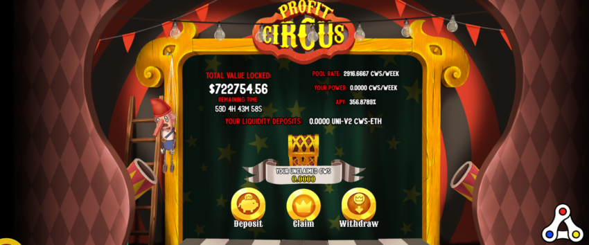 Profit Circus Seascape Network
