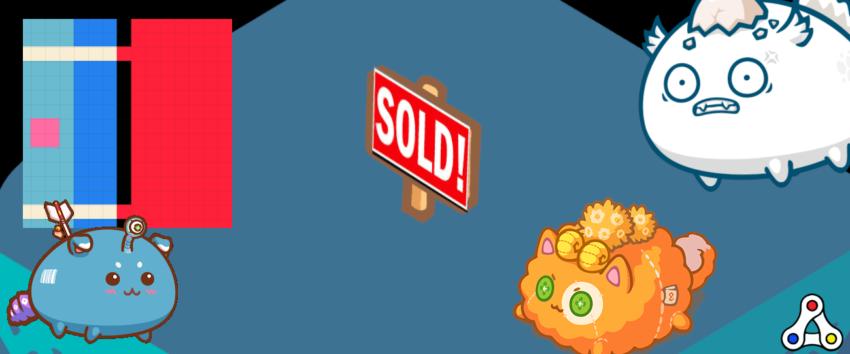 axie infinity genesis land sale