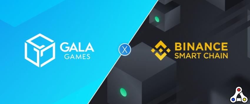 gala games binance smart chain