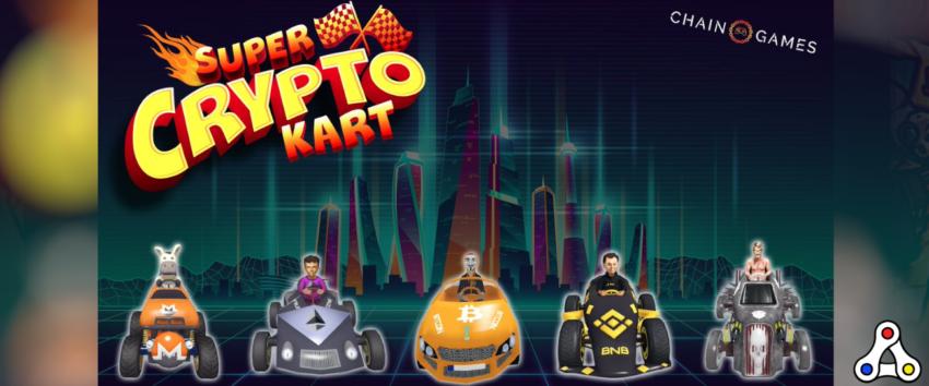 super crypto kart artwork