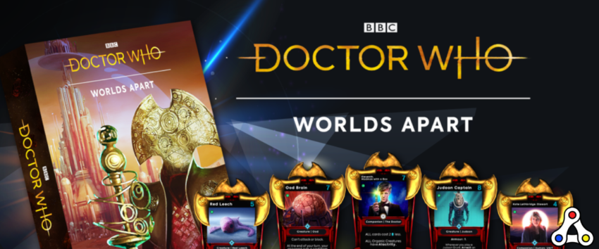 Doctor Who Worlds Apart Time Lord President Pack