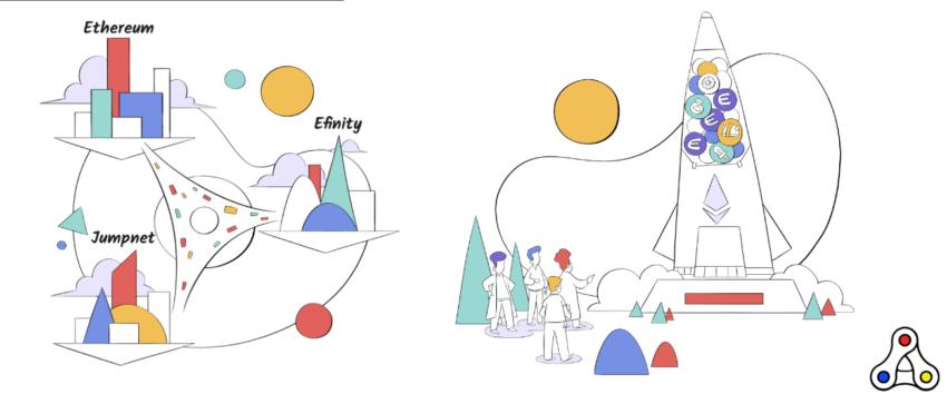Enjin Jumpnet Efinity announcement