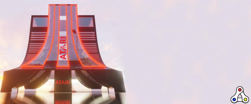 atari casino tower ATRI Decentral Games Decentraland