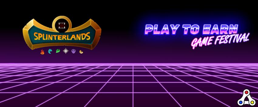 splinterlands play earn festival