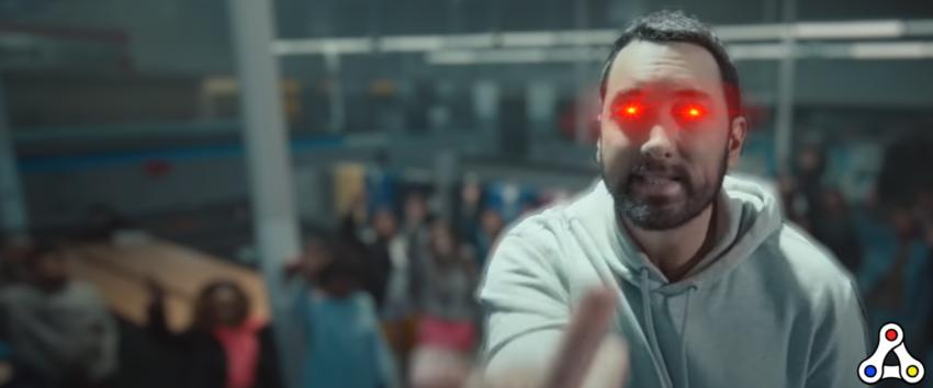 eminem laser eyes nft nifty gateway