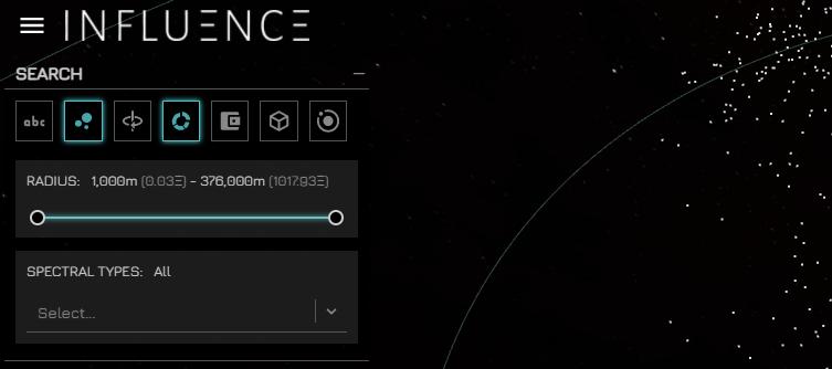 influence menu bar