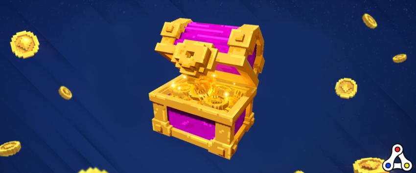 the sandbox SAND treasure money chest