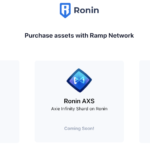 Axie Infinity Has Fiat On-Ramp for Ronin
