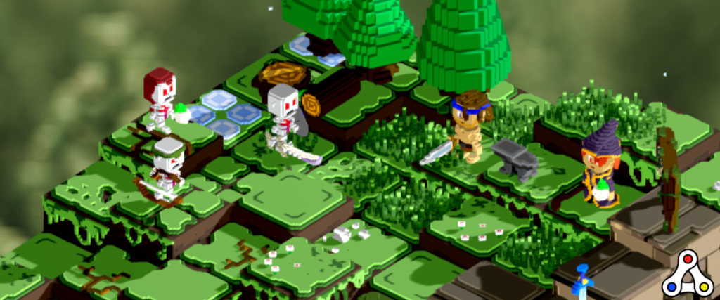 voxies screenshot tactical battle rpg