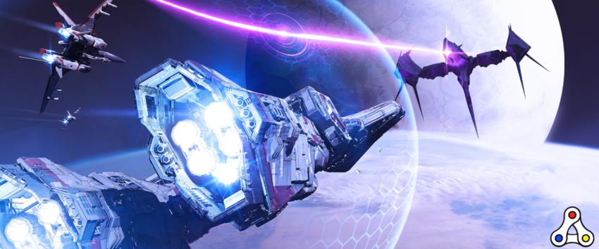 Infinite Fleet battle chase screenshot