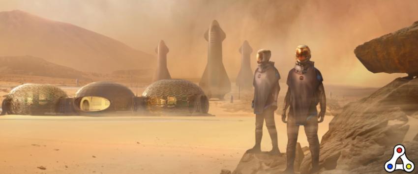 colonize mars artwork