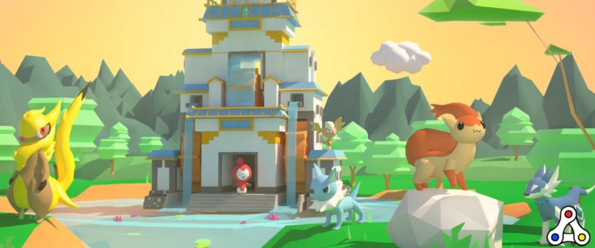ethermon decentraland promotional screenshot