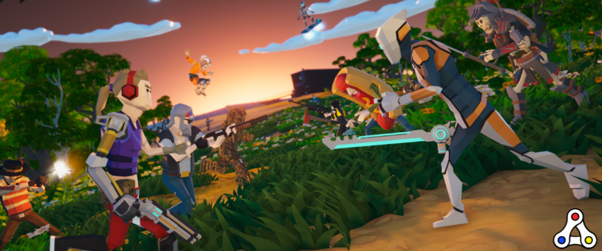 lightnite battle royale screenshot concept art