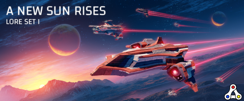 project genesis a new sun rises lore set spaceships NFTs