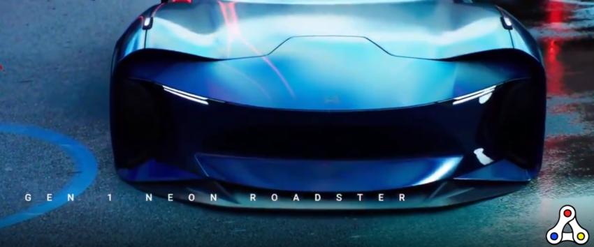 Neon Roadster NFT CryptoMotors