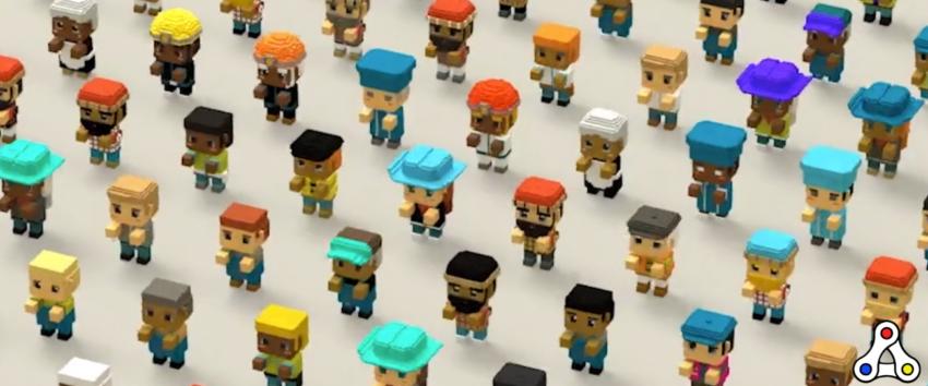 Vox NFT character avatar Gala Labs